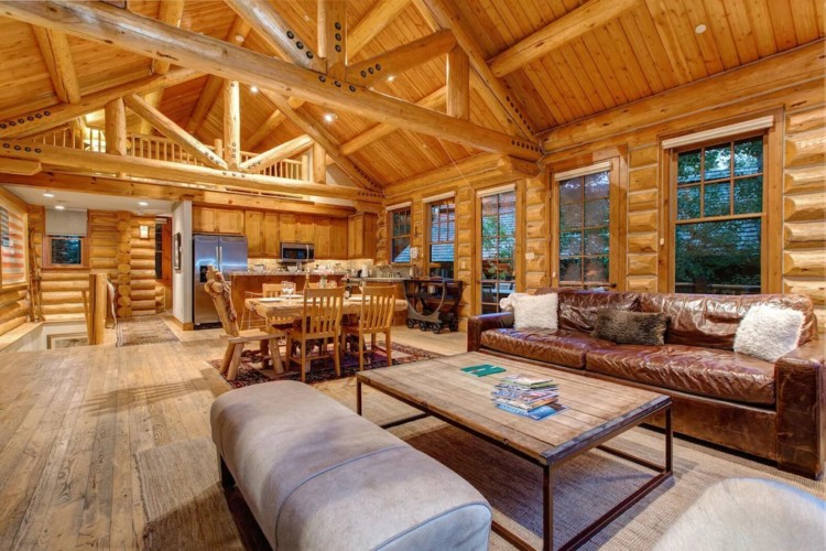 cabins in Wyoming